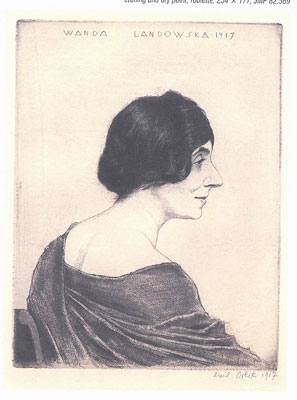 Portrait of Wanda Landowska