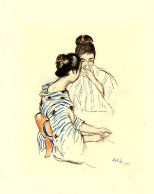 Two Japanese Maidens