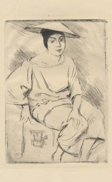 Seated Chinese Woman